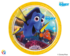 8 Finding Dory Theme Paper Party Plates